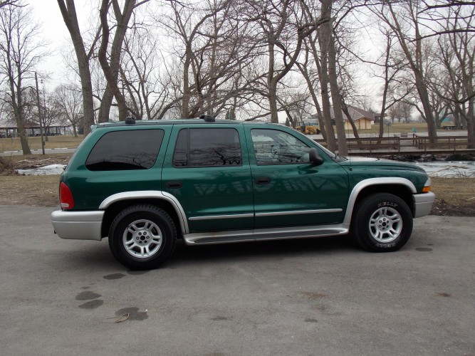X on 2002 Dodge Dakota Slt Plus